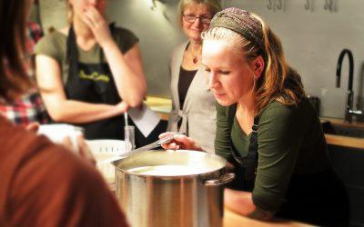 Ateliers de cuisine participative