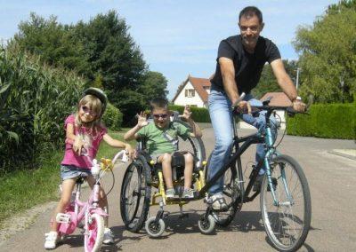 Prime à l'achat pour les vélos adaptés